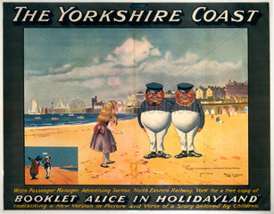 'The Yorkshire Coast'  NER poster  1923-1947.