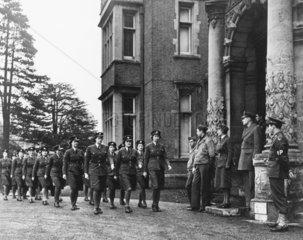 WAAFs on parade  15 December 1942. 'WAAFs