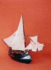 A 'muletta' or Portuguese fishing boat.