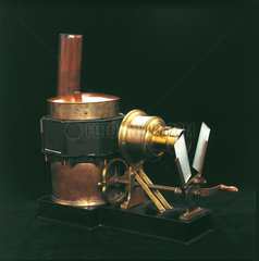 Phantascope lantern  1884.