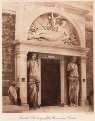 Entrance to the Renaissance Court  the Crystal Palace  Sydneham  1911.
