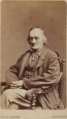 Sir Richard Owen  English naturalist and paleontologist  c 1880.