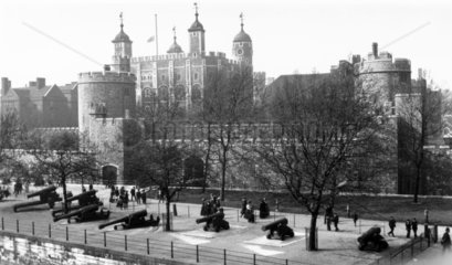The Tower of London  c 1930s.