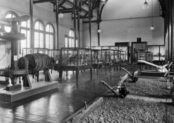 Agriculture gallery  Science Museum  London  October 1928.
