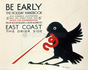 'Be Early'  LNER poster  1923-1947.