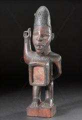 Wooden figure  African  1890-1910.