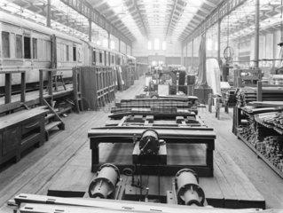 Newton Heath works  Greater Manchester  c 1927