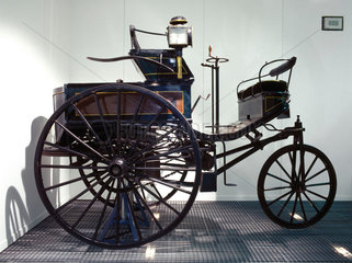 Benz 1.5 hp motor car  1888.