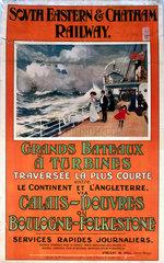 'Grandes Bateaux a Turbines'  1907.