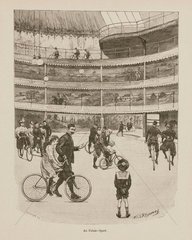'At the Palace of Sport'  1898.