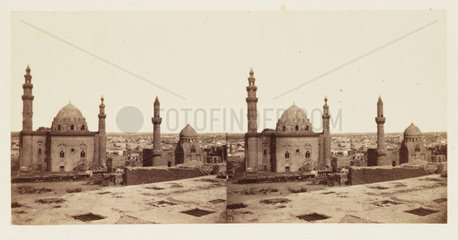 'The Mosque of Sultan Hassan  Cairo'  1859.