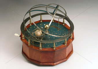 Orrery planetary model by Troughton  1775-1799.