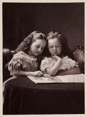 Maud and Ethel May Robinson  c. 1869.