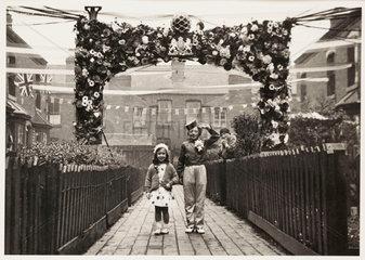 Children in fancy dress  1937.