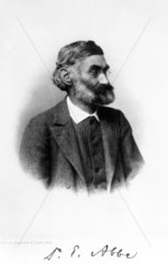 Ernst Abbe  German physicist  c 1895.
