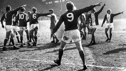 Liverpool v Birmingham City  31 March 1975.