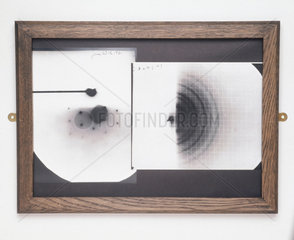 Electron diffraction photographs  1925.