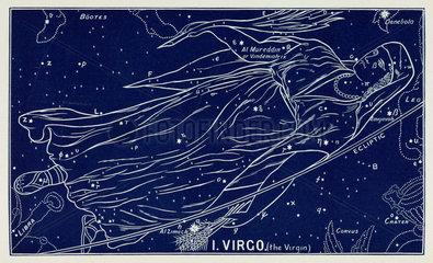 The constellation of Virgo  1895.