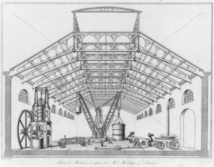 Selection of Maudslay's machine tools  1834.