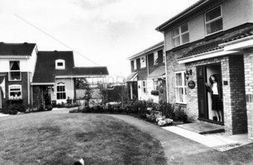 Barratts show village  September 1985.