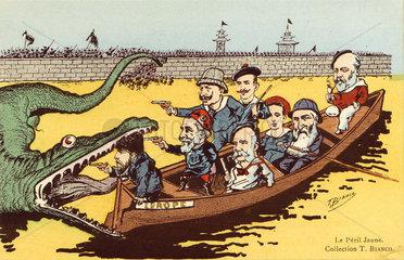 'Le Peril Jaune'  c 1910.