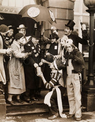Panto day of Liverpool University  19 January 1936.