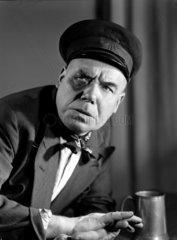 Man with a black eye  c 1955.