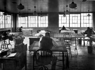 NACA drafting room  Langley Research Center  USA  1 January 1961.