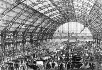Smithfield Agricultural Show  London  1862.