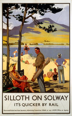 'Silloth-on-Solway'  LNER poster  1923-1947.