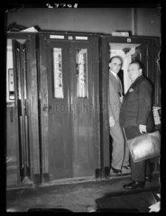 Telephone kiosks  Agenzia Stefani  Italy  c 1950s.