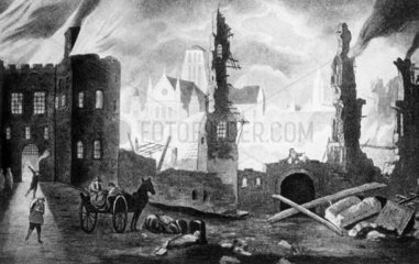 Great fire of London  1666. The great fire