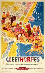 'Cleethorpes'  BR (ER) poster  1960.