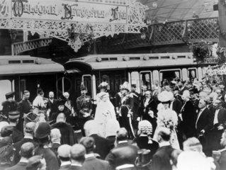 Edward VII and Queen Alexandra  September 1906.