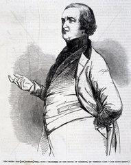 Sir Robert Peel  English politician  1846.