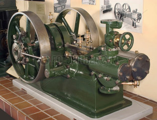 Armington-Sims horizontal steam engine  1888.