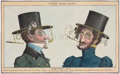 'Living Made Easy: Revolving Hat'  1830.