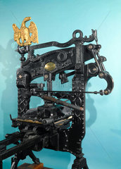 'Columbian' printing press  1837.