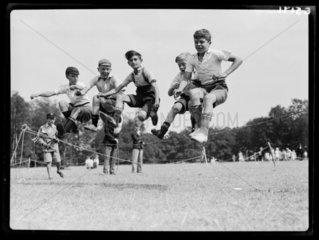 Children playing  1935.
