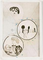 Bacteria paintings  1959.
