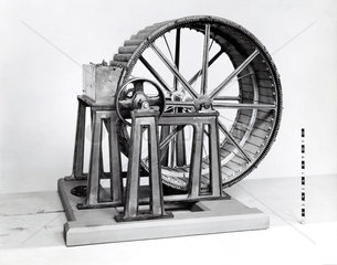 Breast water wheel  19th century.