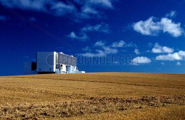 Thorntonloch nuclear power station  East Lothian  1998.