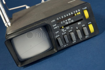 Sinclair MTV1 'Microvision' miniature portable television receiver  1977.