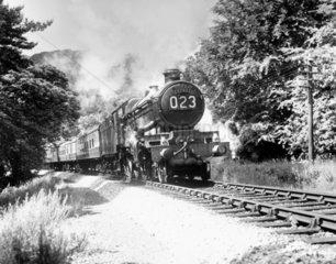 'Tintagel Castle'  Castle Class 4-6-0 locomotive.