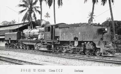 Class EC1 locomotive  Mombasa  Kenya  1941.