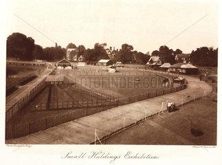 'Small Holdings Exhibition'  Crystal Palace  Sydenham  c 1911.