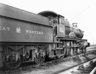 'County of Worcester' steam locomotive  Cou