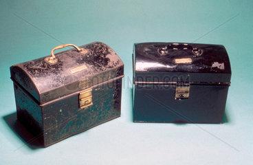 Enginemen's boxes  1930-1960.