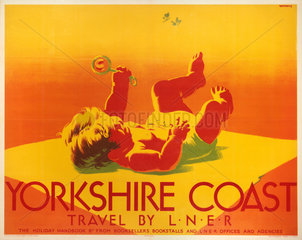'Yorkshire Coast'  LNER poster  1923-1947.