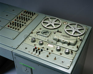 Language laboratory console  c 1960s.